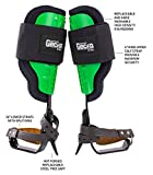 Notch Gecko Steel Climbers w/Tree Gaffs, Green