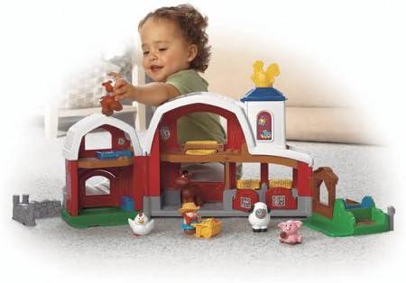 Fisher-Price B8343 - Animal Little People Granja Sonidos [Importado de Alemania]: Amazon.es: Juguetes y juegos