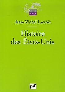 Histoire des États-Unis par Lacroix