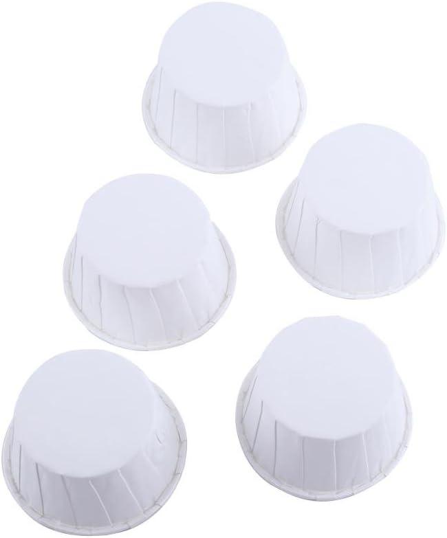 Dekoration Backf/örmchen Cupcakes 100 St/ück Papier-Backf/örmchen aus fettfestem Papier f/ür Cupcakes Muffins 8 Farben zur Auswahl rose