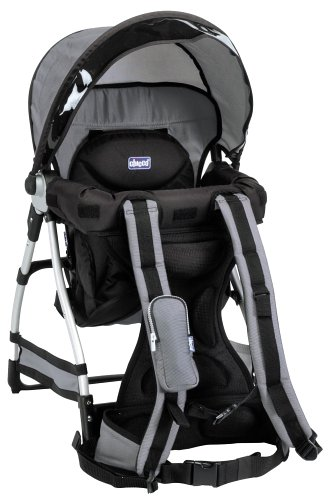 4547073fddb Amazon.com   Chicco Smart Support Backpack Silver (Discontinued by  Manufacturer)   Child Carrier Backpacks   Baby