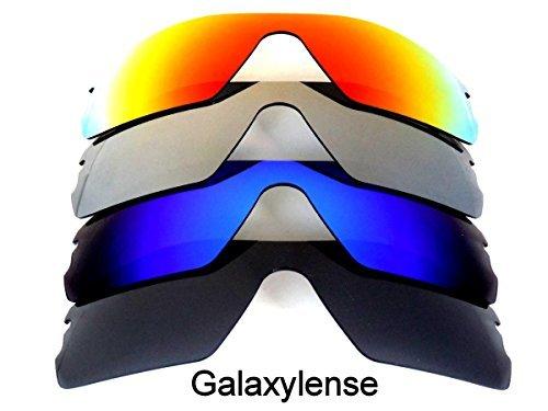 Galaxy lentes de repuesto para Oakley Radar Path negro   azul   gris y rojo  Color ac714f1073