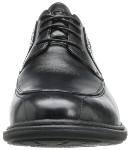 Clarks Mens Un Rage Oxford In Pelle Nera