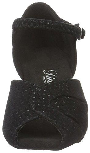 Con 011 Donna Tanzschuhe Scarpe Damen Tacco 064 Nero Diamant 156 Waterproof black 6RwYxqBBg