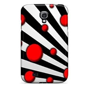 New Fashionable Henrydwd XKSpgXO5125gTkRt Cover Case Specially Made For Galaxy S4(hypnotic Dots)