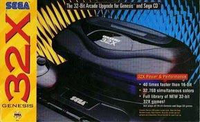 5602 System - Sega Genesis 32X Console