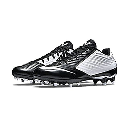 Nike Mens Vapor Speed Low Td Molded Football Cleats, Wht/Blk, SZ 11.5