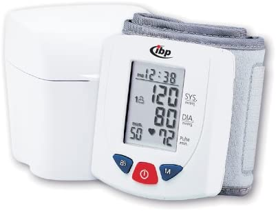IBP Wrist Blood Pressure Monitor Blood Pressure Computer H 400 for 2 People  50: Amazon.co.uk: Health & Personal Care