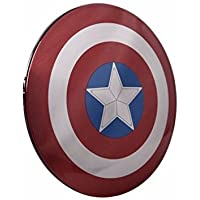 Marvel Avengers Captain America Shield 6800mAh External Battery Portable Charger Backup Pack Power Bank for iPhone 7 7 Plus 6 6S Plus 5S 5C SE 4S Android Windows LG HTC