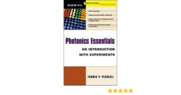 Photonics Essentials An Introduction With Experiments