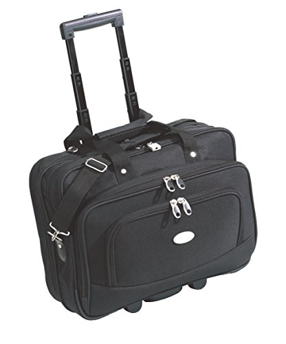 Boardcase Business Black Teleskopsystem mit 2 Rollen gepolstertes Laptopfach