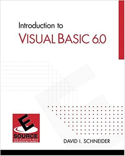 Ebook For Visual Basic 6.0