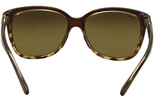 19420b570ce ... Maui Jim Lunettes de soleil polarisées – Étoile de mer pour femme  Translucent Chocolate with Tortoise ...