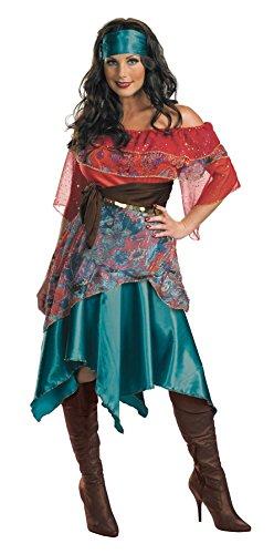 Bohemian Babe Adult Gypsy Costume Women 8-10 - Bohemian Gypsy Costumes