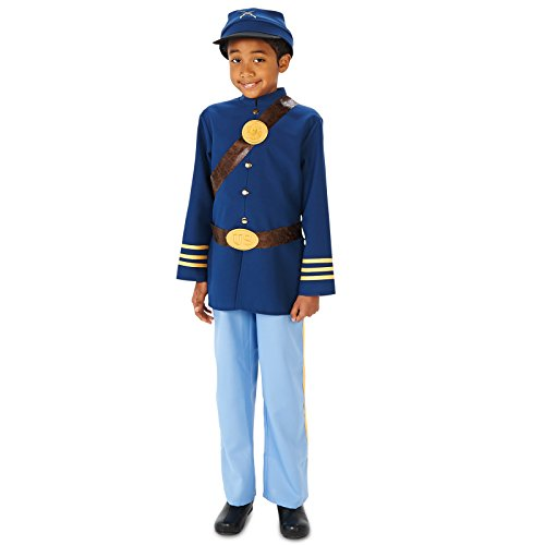 Civil War Soldier Boy Costume L (Civil War Union Soldier Kids Costumes)