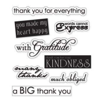 Thank you stickers clear vinyl stickers scrapbooking stamping sticker decal c187