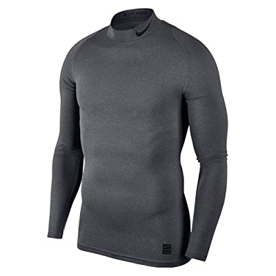 Nike M Np Top Ls Comp Mock Haut de Training à Manches Longues Homme