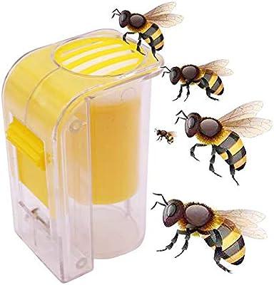 Plastic Queen Marker Cage Clip Bee Catcher Beekeeper Tools Equipment New R4 Z8C2