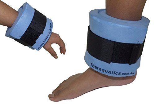 Foot-Arm-Hand Buoyancy Cuffs (Sold in Pairs) by Theraquatics