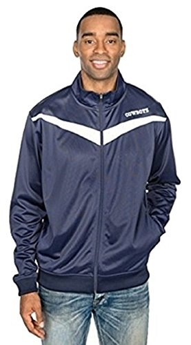 Dallas Cowboys Navy Desco Full Zip Track (Dallas Cowboys Track Jacket)