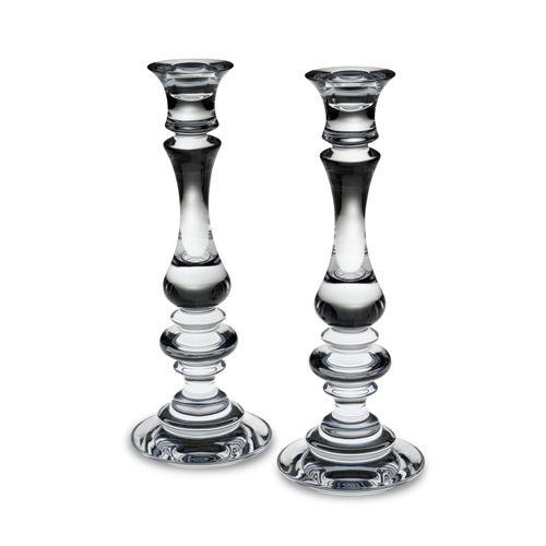 Reed & Barton Weston Crystal Candlestick 11 Inch, Set of 2 by Reed & Barton
