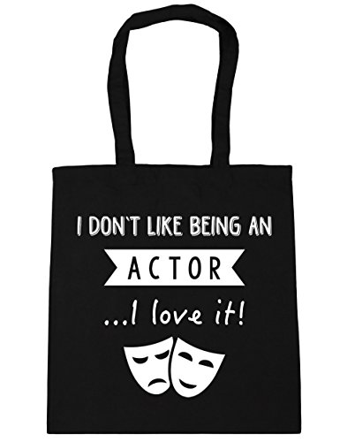 Gym Tote Shopping x38cm It Being Like Black Bag Beach 10 An HippoWarehouse 42cm Don't Love I Actor I litres PzSpwvgq