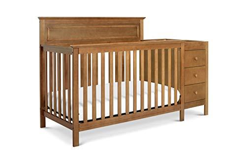 (DaVinci Autumn 4-in-1 Crib and Changer Combo, Chestnut)