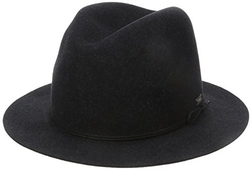 Coal The Drifter Crushable Short Brim Fedora Hat by Coal