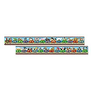 Melissa & Doug Alphabet Express Jumbo Jigsaw Floor Puzzle (27 pcs, 10 feet Long)