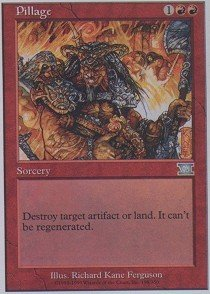Magic: the Gathering - Pillage - Sixth Edition
