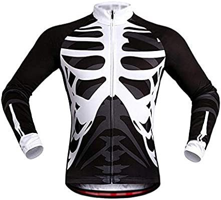 MISHUAI Jersey Ciclismo Unisex Adulto Hombre Ciclismo ...