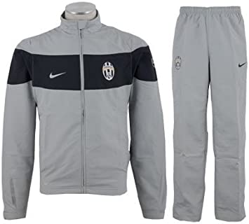 Nike - Juventus Chandal Gris UCL 09/10 Hombre Color: Gris Talla ...