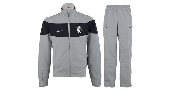 Nike Juventus Warm-up Chándal de Hombre, Gris - Negro: Amazon.es ...