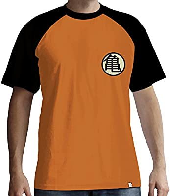 ABYstyle - Dragon Ball - Camiseta - Kame Simbolo - Hombre - Naranja (S): Amazon.es: Deportes y aire libre