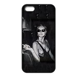 iPhone 5 5s Cell Phone Case Black Kate Moss Painting PD5438719