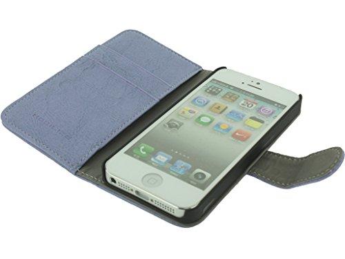Mobilize Wallet Book Case iPhone 5 Purple