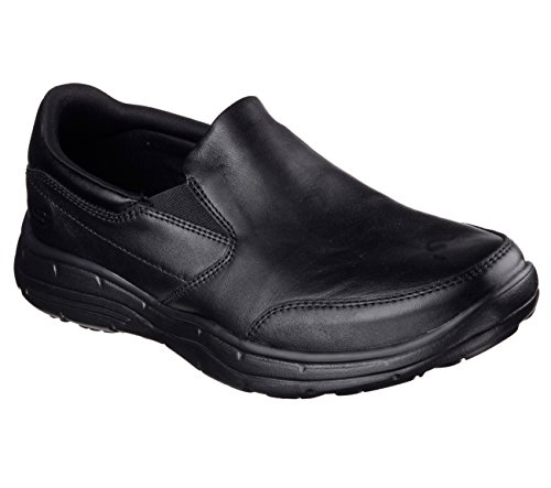 Skechers-Relaxed-Fit-Glides-Calculous-Mens-Loafers-Black