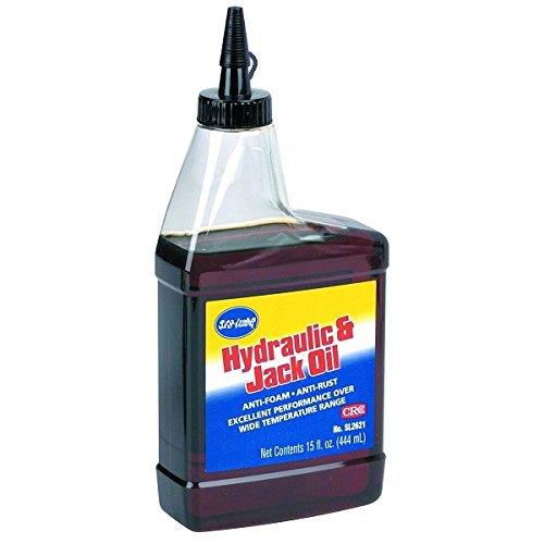 Hydraulic Oil Oxidation - 15 Oz. SAE Grade 20 Weight Hydraulic Machine And Jack Oil Anti-rust Anti-oxidation Anti-foam Anti-wear Qualities Pneumatic Tools