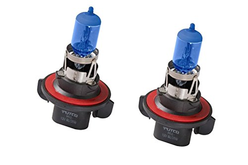Putco Lighting 239006XNB Halogen Head Light Bulb Nitro Blue 9006XS Pair