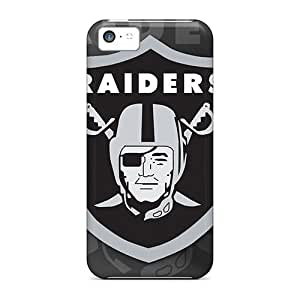 Fashionable Style Cases Covers Skin For Iphone 5c- Oakland Raiders