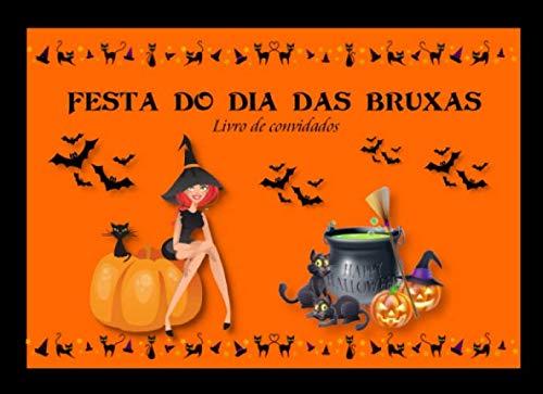 Dia Do Halloween Fantasias (Festa Do Dia Das Bruxas: Livro de Convidados | Recordação da festa de)
