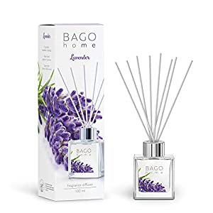 BAGO home Fragrance Reed Diffuser Set – Citrus, 100 ml 3.4 oz