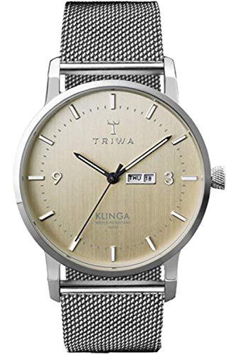 Triwa klinga Womens Analog Japanese Quartz Watch with Stainless Steel Bracelet KLST108ME