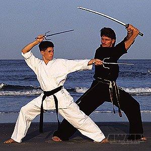 Pro Force 10oz Karate Gi/Uniform - White - Traditional Waist - Size 3 10 Ounce Karate Uniform
