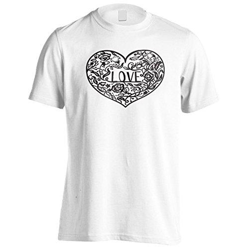 Liebe In Schwarz Herren T-Shirt n258m