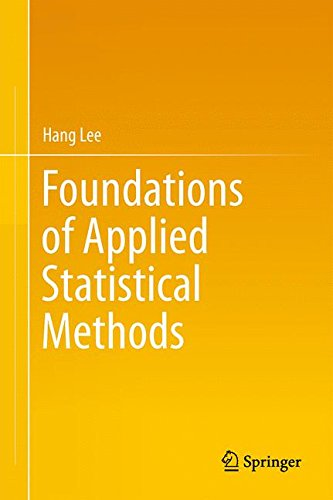 Foundations of Applied Statistical Methods
