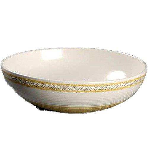Franciscan Hacienda Earthenware - Franciscan Earthenware Hacienda Gold Salad/Vegetable 9 inch Serving Bowl