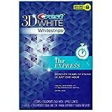 Crest 3D White 1 Hour Express「ホワイトストリップ 1アワー」4回分 / ホワイトニング [並行輸入品]