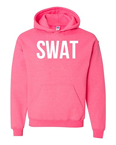 Mom's Favorite Novelty Hoodie SWAT S.W.A.T. Law Enforcement Police Halloween Costume Party Unisex Hoodies Sweater ()