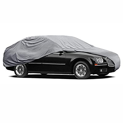 Car Cover for Chrysler 300 Waterproof Sun Proof Breathable 4 Layers UV Block